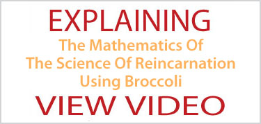 Explaining The Mathematics Of The Science Of Reincarnation Using Broccoli