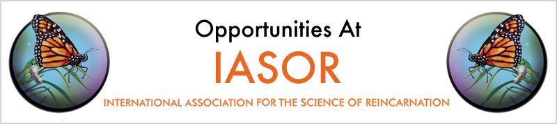 Opportunities at IASOR