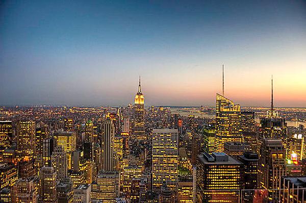 newyorkcityatsunset